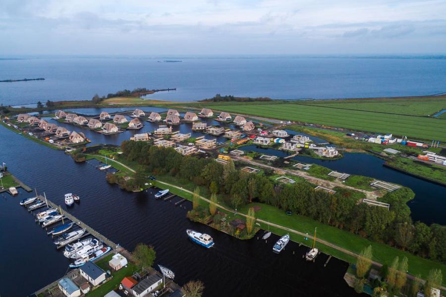 Algemeen: Watervilla's Friese Meren